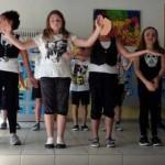 13 Boom Clap, Tanz der Klassen 3 und 4